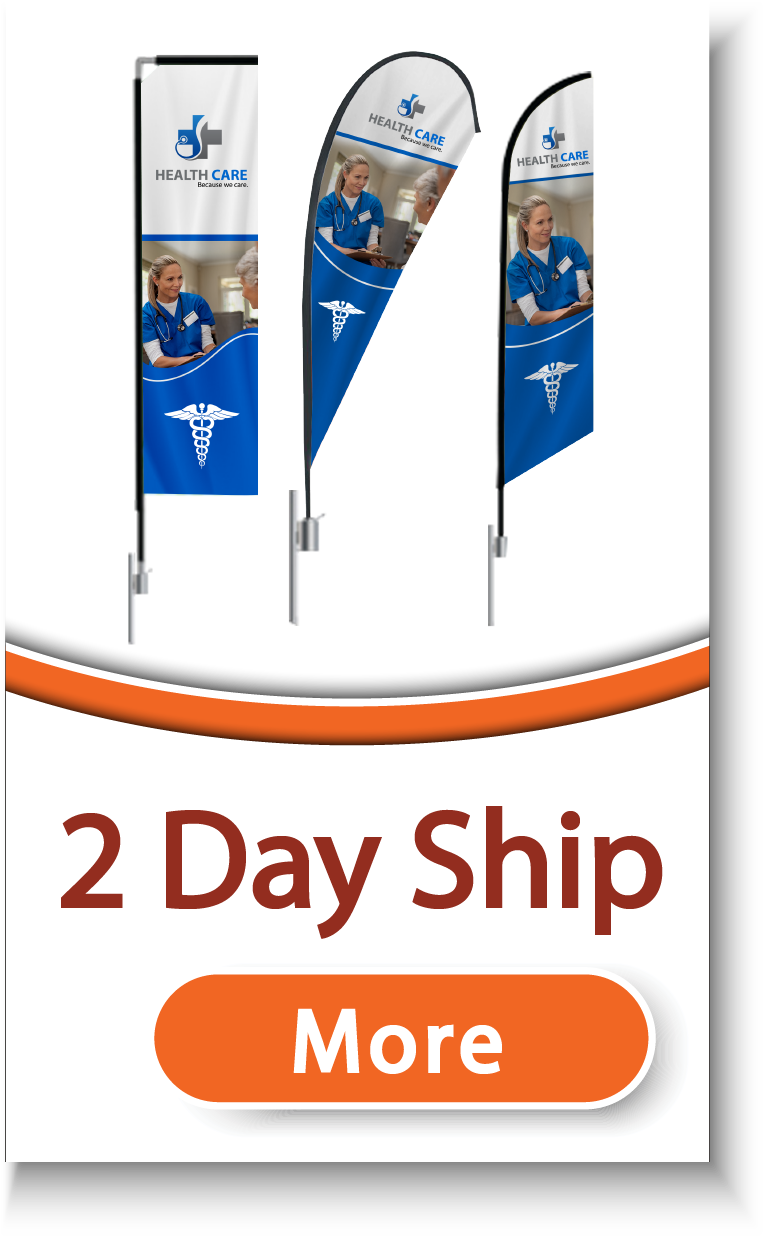 2 Day Ship Flags