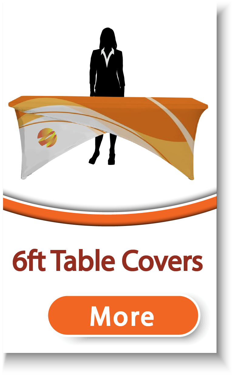 6ft Table Covers