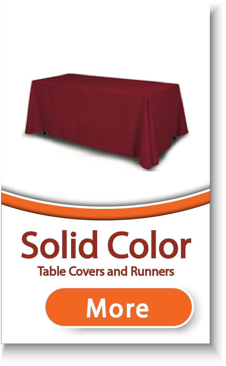 Solid Color Table Covers