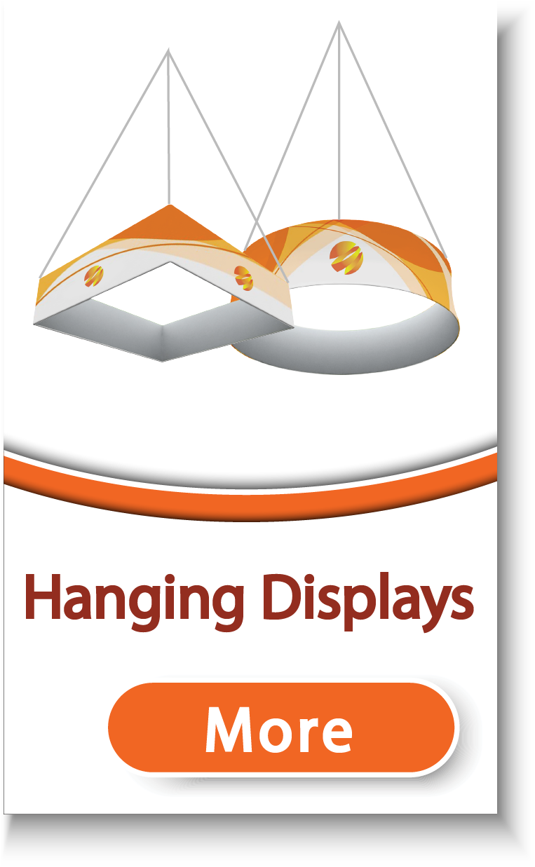 Tension Fabric Hanging Banners