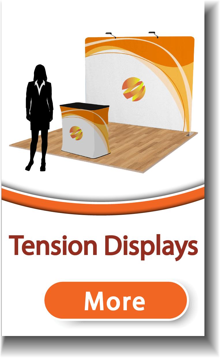 Tension Fabric Displays
